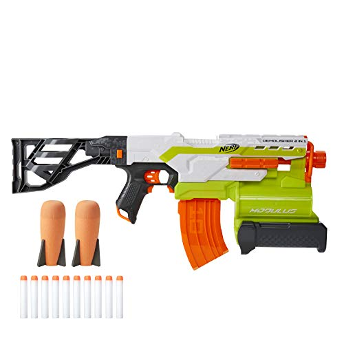 Nerf Modulus Demolisher 2-in-1 Motorized Blaster