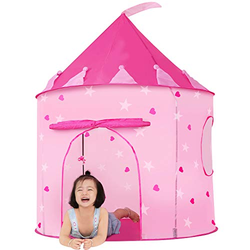 JOYBEE Kids Tent Pink Princess Castle