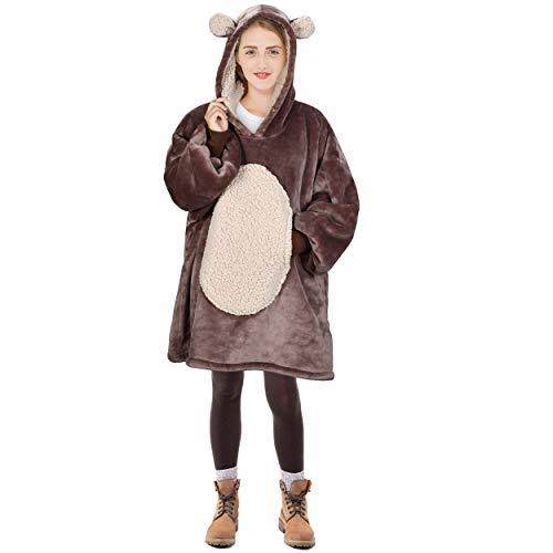 Bear Blanket Sweatshirt