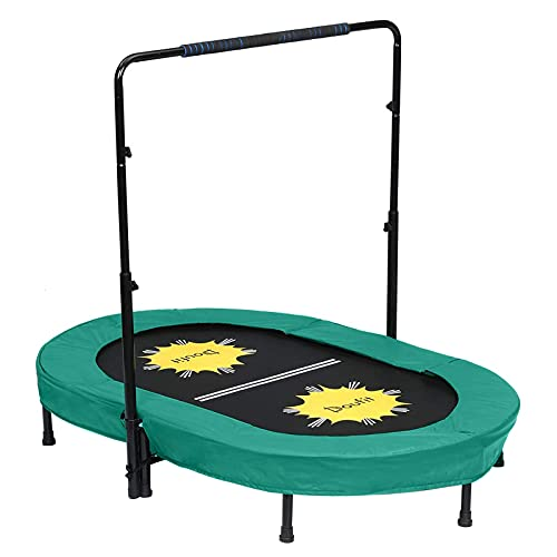 Doufit Trampoline for 2 Kids