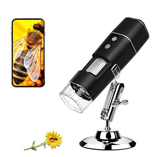 Wireless Digital Microscope Camera Pocket Handheld USB Magnification Endoscope 50X to 1000x