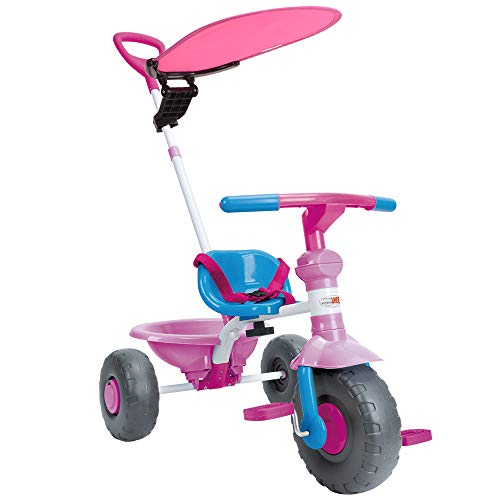 ChromeWheels 2-in-1 Kids Tricycle (Best Budget Option)