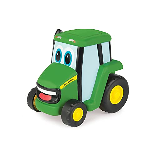 TOMY John Deere Push 'N' Roll Johnny Tractor Toy (Best Budget Option)