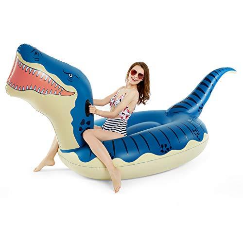 Jasonwell Inflatable Dinosaur Pool Raft