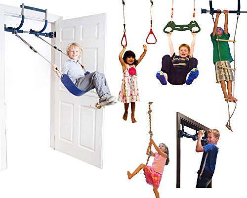 HAPPY PIE PLAY & ADVENTURE Kids Four Knotted Platforms Climbing Rope