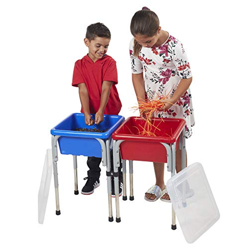 ECR4Kids Sand and Water Adjustable Activity Play Table Center