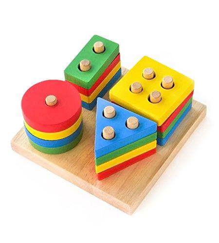 Boxiki kids Wooden Stacking Toys