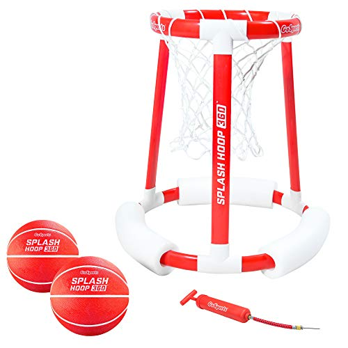 GoSports Splash Hoop 360 Floating Pool Basketball Game (Best Quality Option)