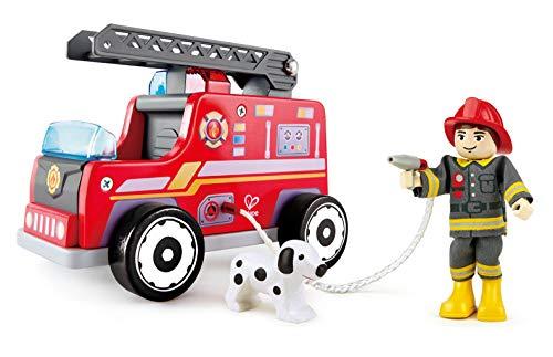 Hape Fire Truck Playset
