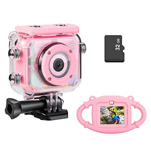 Kids Camera, Underwater Waterproof Digital Camera