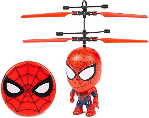 Marvel 3.5 Inch: Spider-Man Flying Figure IR Helicopter