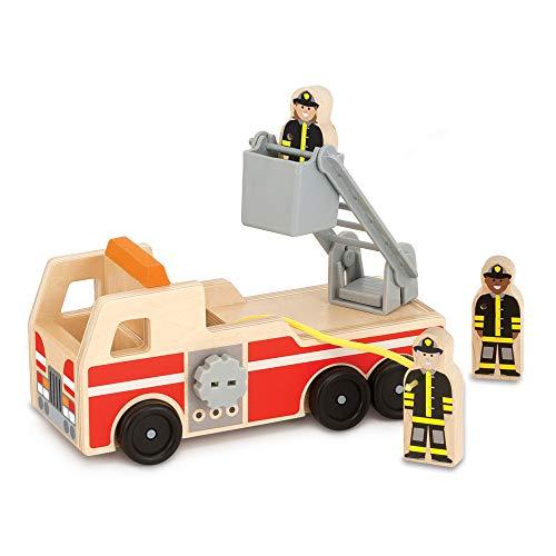 Melissa & Doug Wooden Fire Truck