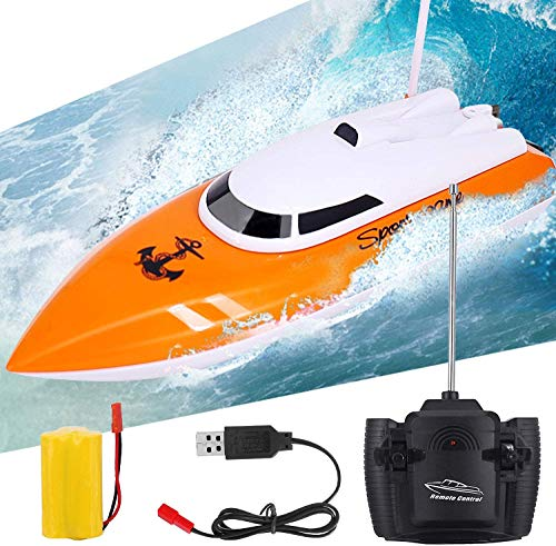 Remote Control Boat, 2.4GHz High Speed Remote Boat (Best Budget Option)