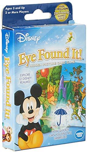 World of Disney Eye Found It Card Game (Best Runner-Up Toddler Option)