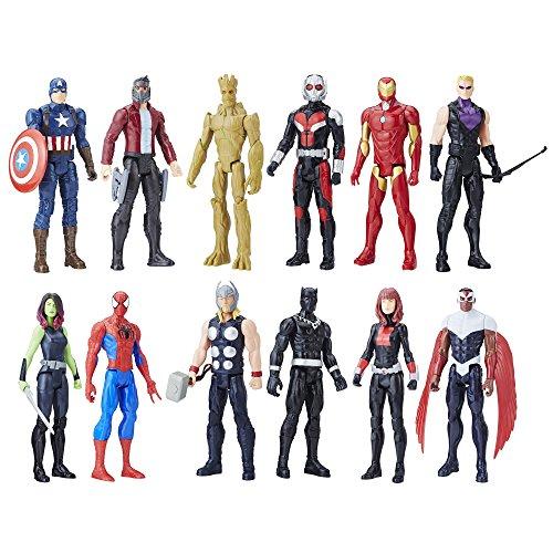 Marvel Titan Hero Series 12-inch Super Hero Action Figure 12-Pack