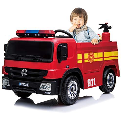 Kidsclub Ride On Fire Truck Toy