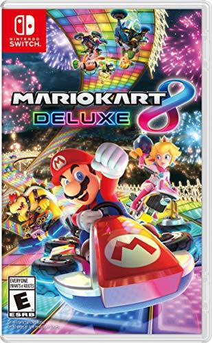 Mario Kart 8 Deluxe - Nintendo Switch (Best Quality Option)
