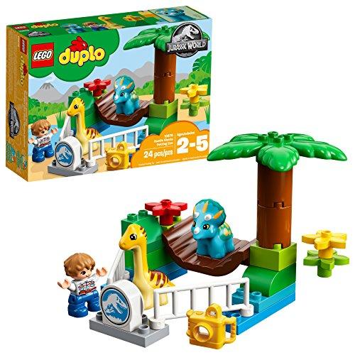 LEGO DUPLO Jurassic World Gentle Giants Petting Zoo 10879 (Best Quality Age 1-3 Option)