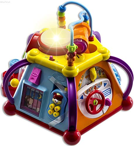 WolVolk Musical Activity Cube Play Center