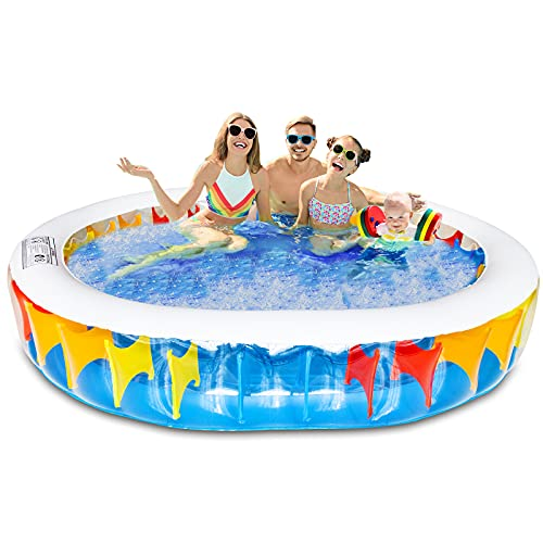 Inflatable Pool, Swimming Pool for Kids Adults Family