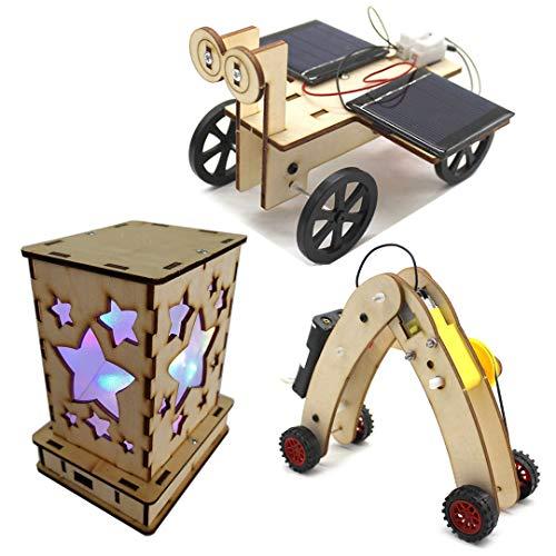 Solar Circuits Car and Fairy Nightlight Lantern and Machine Caterpillar