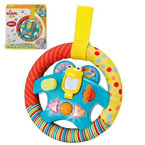 "Steering Wheel Toy ""My Little Driver"" with Motion Sensors"