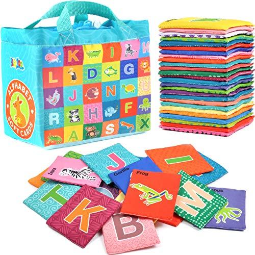 BleuZoo Soft Alphabet Cards