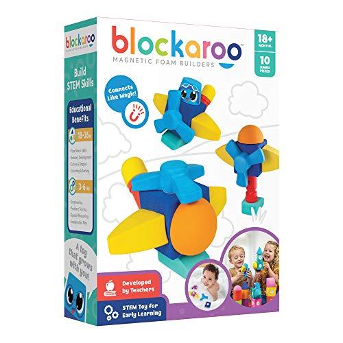 Blockaroo Magnetic Foam Building Blocks