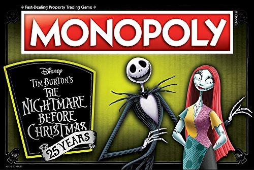 Monopoly Disney Nightmare Before Christmas