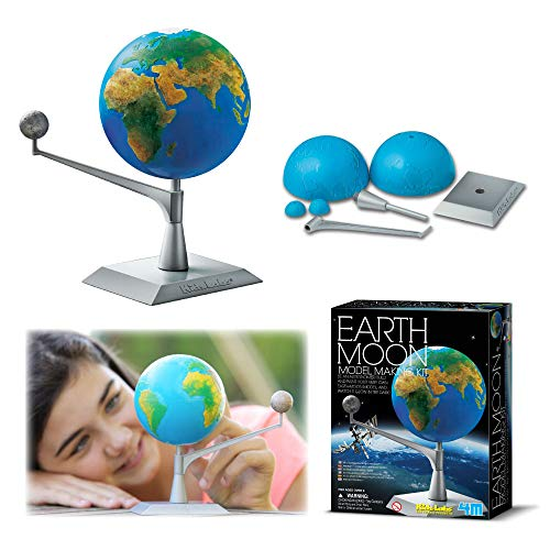 4M Kidzlabs Earth & Moon Model Kit