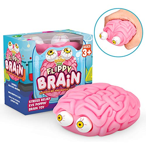 Flippy Brain Squishy Eye-Popping Squeeze Fidget - Best Budget Option