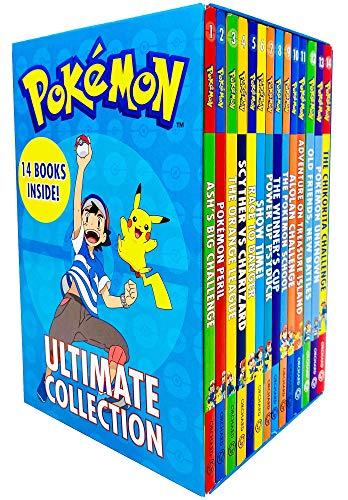 Pokemon Ultimate Collection Series Books 1-14 Set
