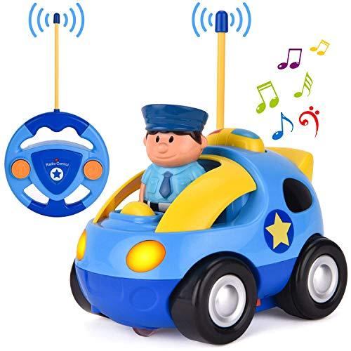 Liberty Imports My First RC Cartoon Car Vehicle