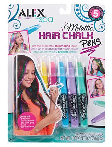 Alex Spa 5 Metallic Hair Chalk Pens