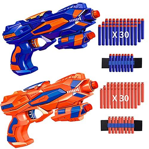 RegeMoudal 2 Pack Blaster Toy Guns for Kids (Best Quality Option)