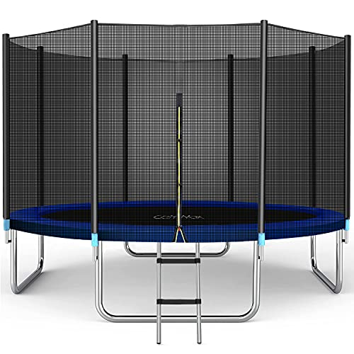 CalmMax Recreational Trampoline with Enclosure Net