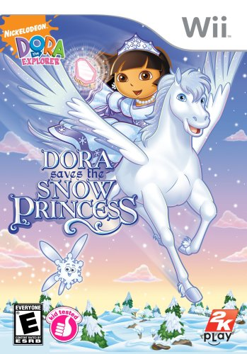 Dora the Explorer: Dora Saves the Snow Princess - Nintendo Wii