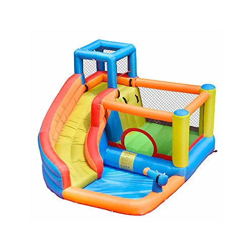 doctor dolphin Inflatable Bounce Slide House Jumper Water Slide Park Combo