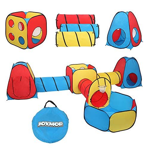 JOYMOR 7 in 1 Kids Ball Pit Tents and Tunnels