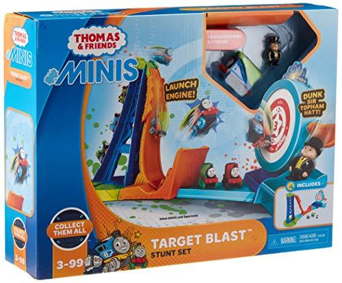 Thomas & Friends MINIS Target Blast Stunt Set dunk tank
