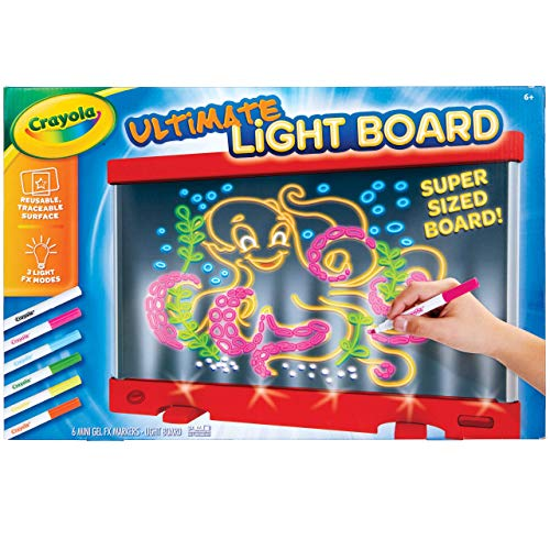 Crayola Ultimate Light Board Red, Drawing Tablet