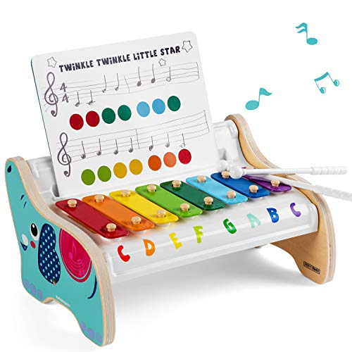 TOP BRIGHT Wooden Xylophone