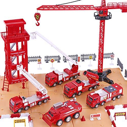 iPlay, iLearn Kids Fire Truck Toys