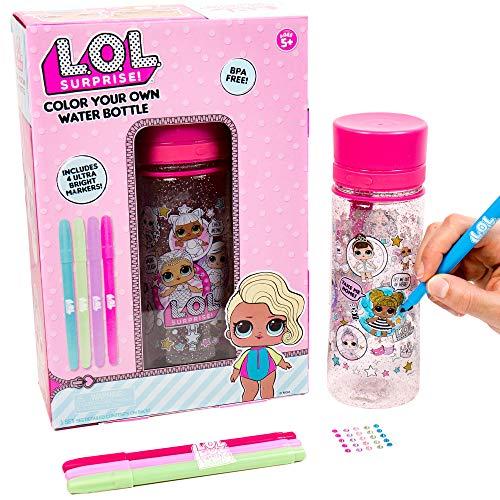 L.O.L. Surprise! Color Your Own Water Bottle