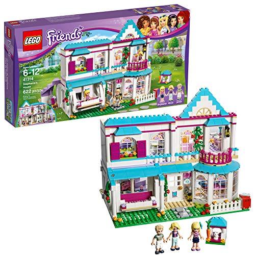 LEGO Friends Stephanie's House 41314 (Best Quality Age 4-6 Option)