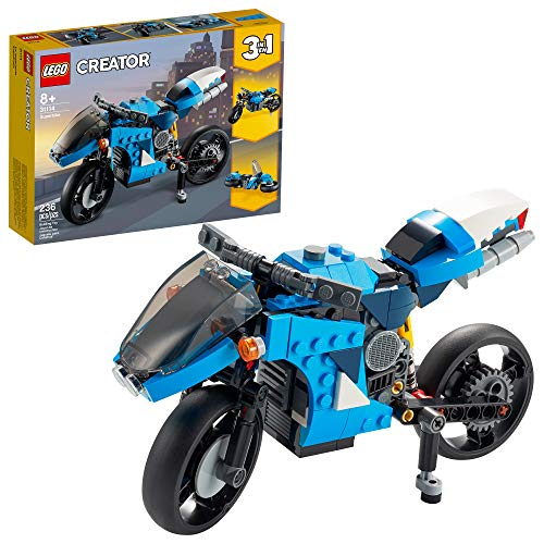 LEGO Creator 3in1 Superbike 31114 Toy Motorcycle Building Kit