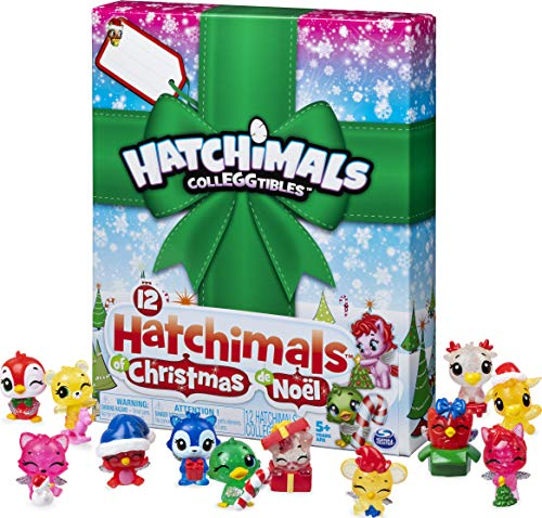 Hatchimals CollEGGtibles, 12 Hatchimals of Christmas Surprise Gift Set