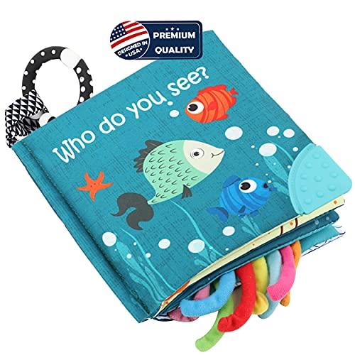 Fish Soft Cloth Book