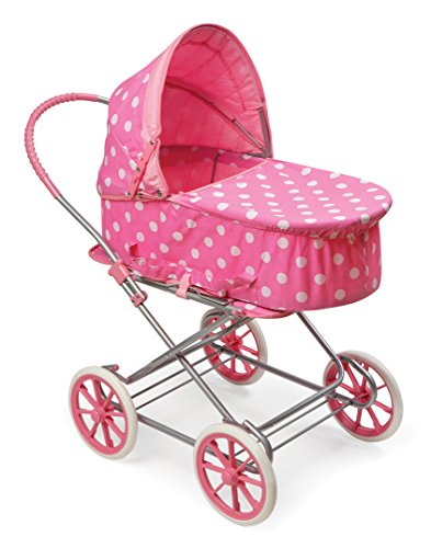 Badger Basket 3-in-1 Doll Pram, Carrier, and Stroller