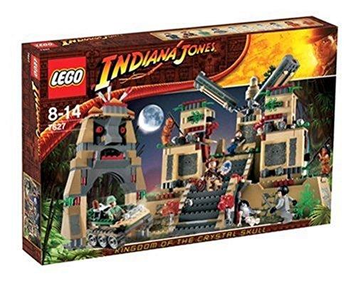 Temple of 7627 of LEGO Indiana Jones Crystal Skull (japan import)